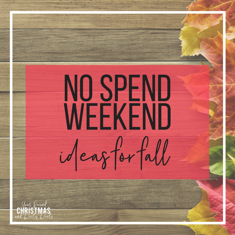 No Spend Weekend Ideas for Fall