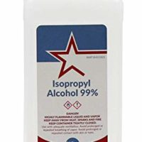 Healthstar 99% 16 Ounce Isopropyl Rubbing Alcohol – Cleans, Disinfects, Relieves Muscle Pain - Made in USA