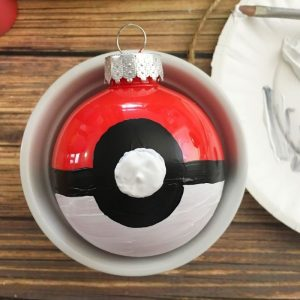 _ diy pokemon christmas ornament