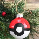 pokemon go christmas ornament