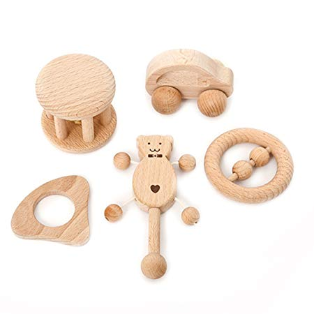 Amyster Puzzle Toys Intellectual Development of Children Montessori Toys Set