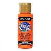 DecoArt Americana Acrylic Paint, 2-Ounce, Bright Orange