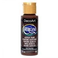 DecoArt Americana Acrylic Paint, 2-Ounce, Dark Chocolate