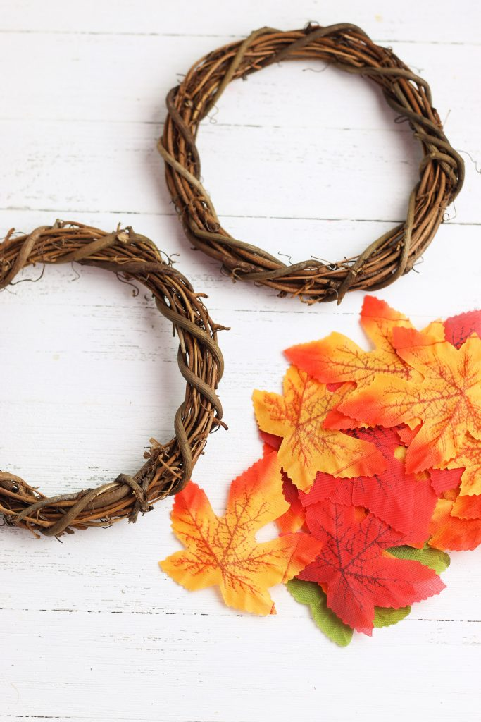supplies for wreath leaves