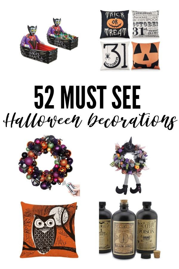 Halloween Decoration Ideas - Pin Image