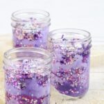galaxy jars on a counter