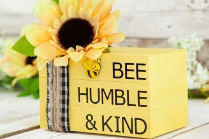 bee humble and kind bee craft