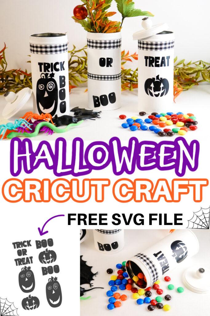 Halloween Cricut Craft