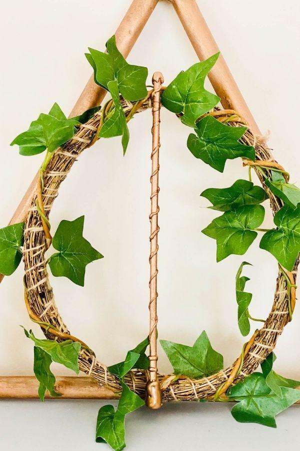 harry potter sleepy hollow wreath